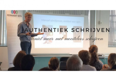 Community over authentiek schrijven