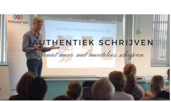 Nieuwe Community over authentiek schrijven